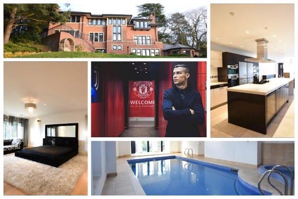 Cristinao Ronaldo maison Manchester