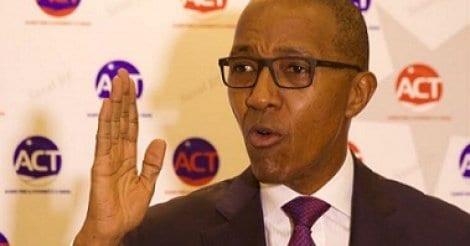 abdoul mbaye sur la suppression du poste du premier ministre