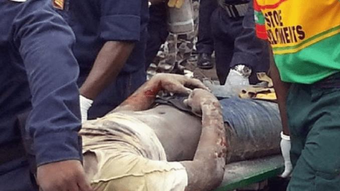 corps Quatre jeunes retrouvés morts dans le Canal de l'échangeur de la Patte d'Oie (photo)