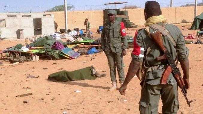 attaque terroriste dans un camp militaire au mali