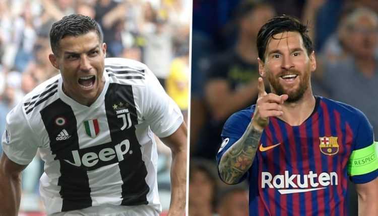 les deux rois du foot