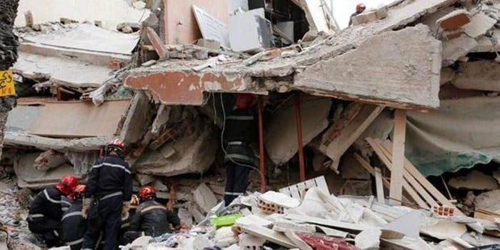 Yarakh: l'effondrement d'une dalle fait 2 morts et un blessé grave