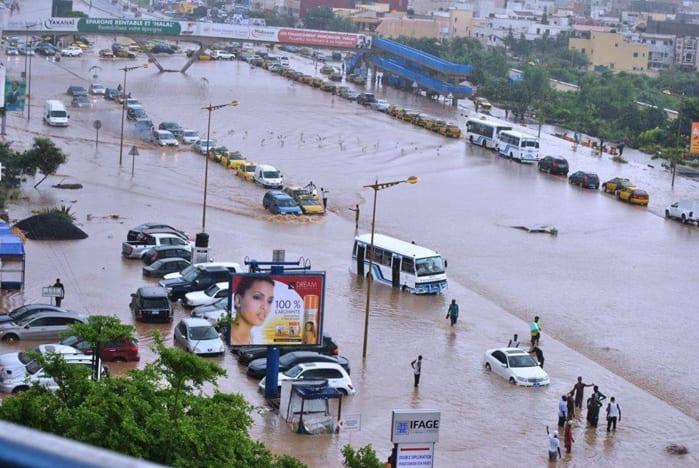 Fortes pluies à Dakar: Les populations pataugent dans les eaux