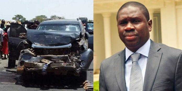 Le cortège du ministre Oumar Youm fait un accident à Richard Toll
