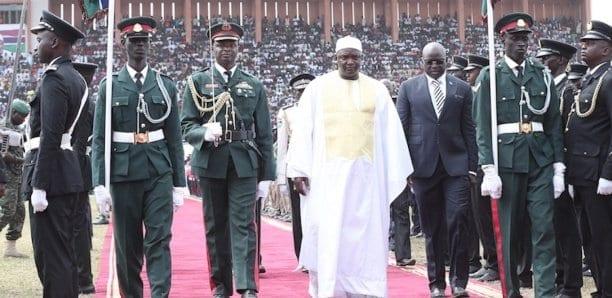 150 soldats gambiens formés à Dakar pour la sécurité de Barrow