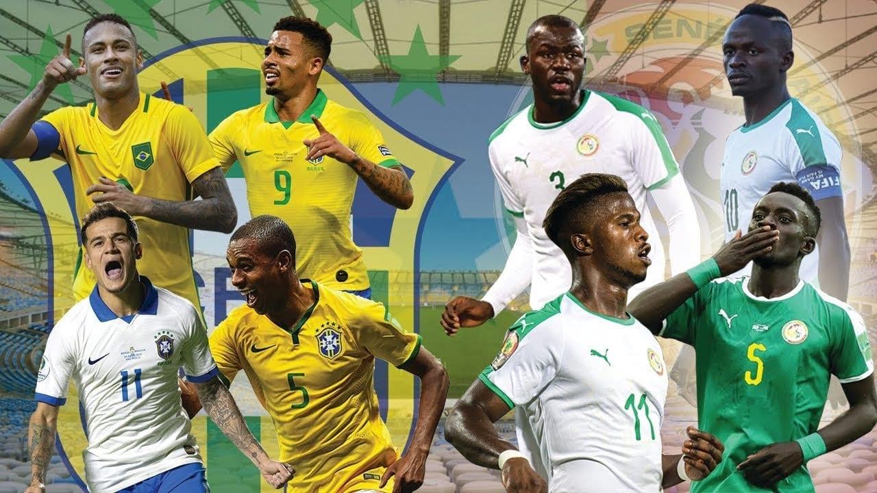 Senegal vs brasil
