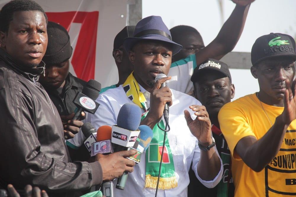 """Ousmane Sonko: """"Le plus grand rêve de Macky c'est de me voir en prison"""""""