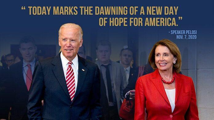 Biden et Pelosi