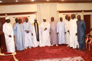 serigne issakha et delegation